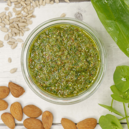 Bärlauch Pesto veganes Rezept